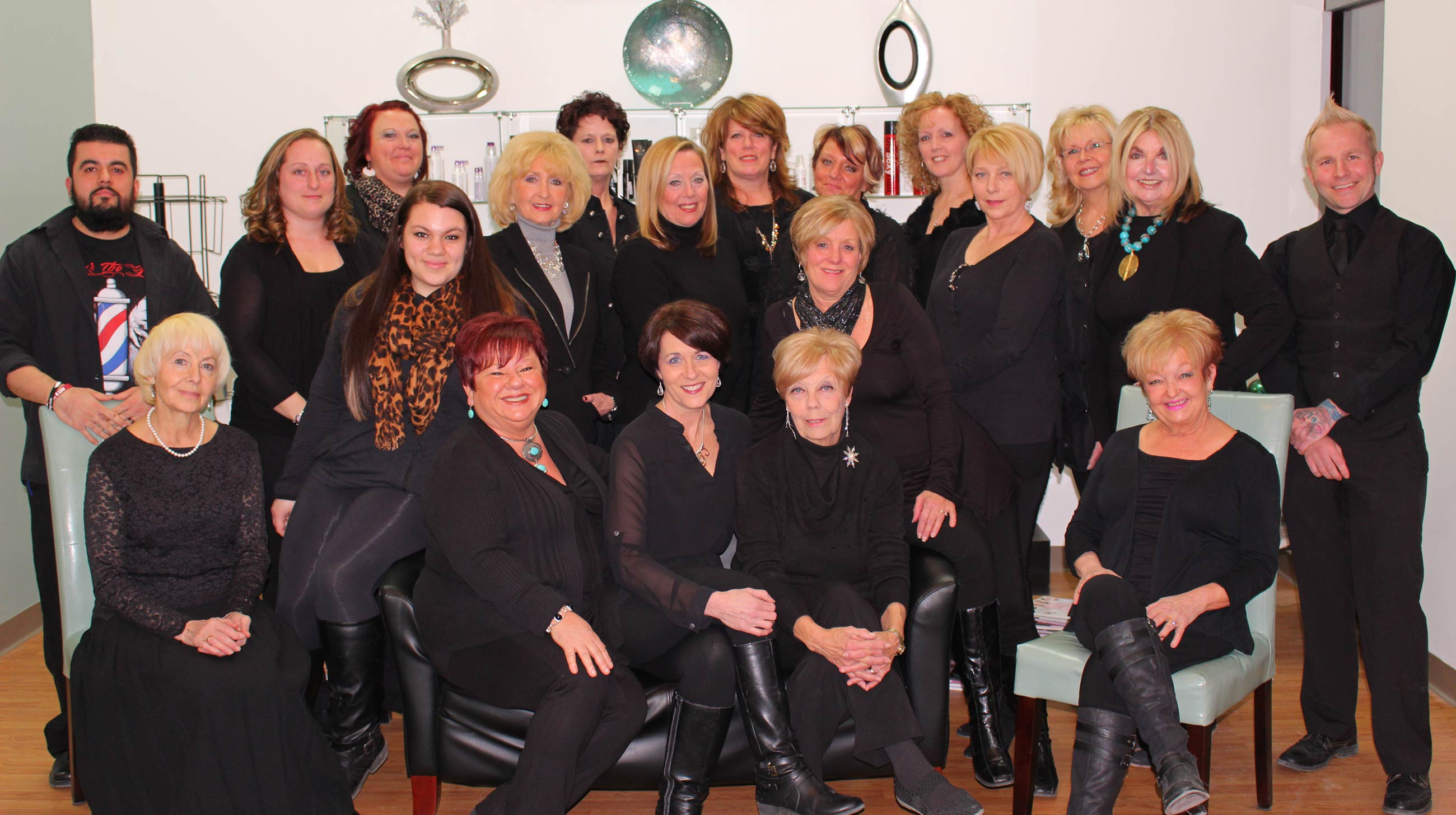 Staff at Hair Unique Salon Norwich CT